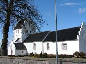 Asperup kirke forår
