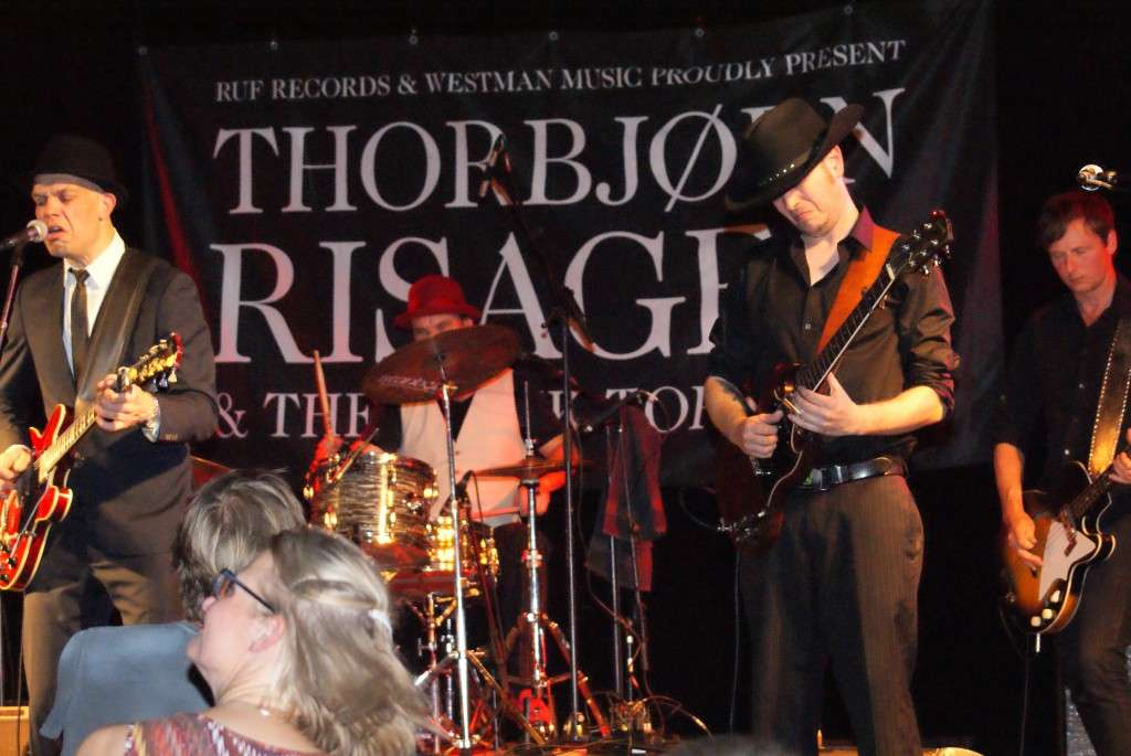 Thorbjørn Risager & The Black Tornado