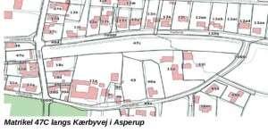 Matrikel 47C langs Kærbyvej i Asperup
