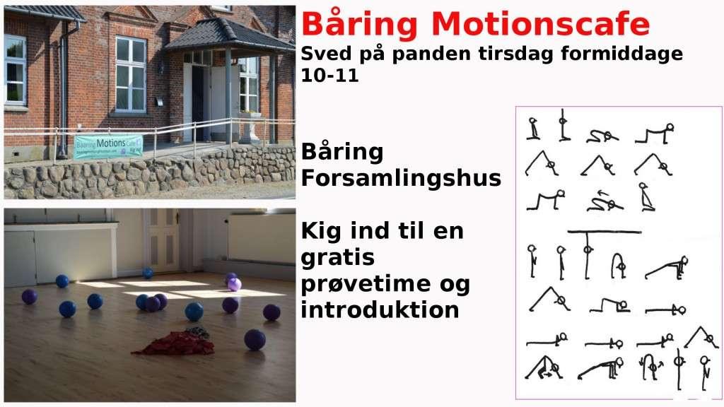 Baaring motionscafe