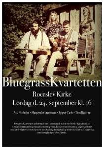 BluegrassKvartetten plakat - Roerslev Kirke - PDF