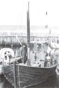 Kresten i sin båd