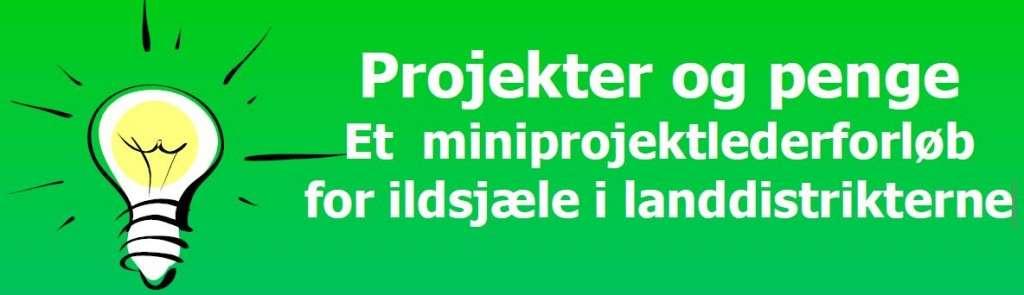 Projekter og penge - LAG 2015