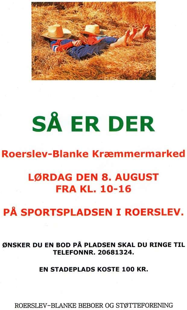 kræmmermarked Roerslev